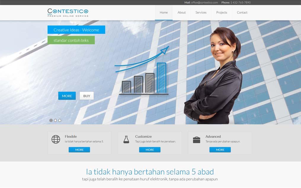 Projekt strony www dla firmy finansowej