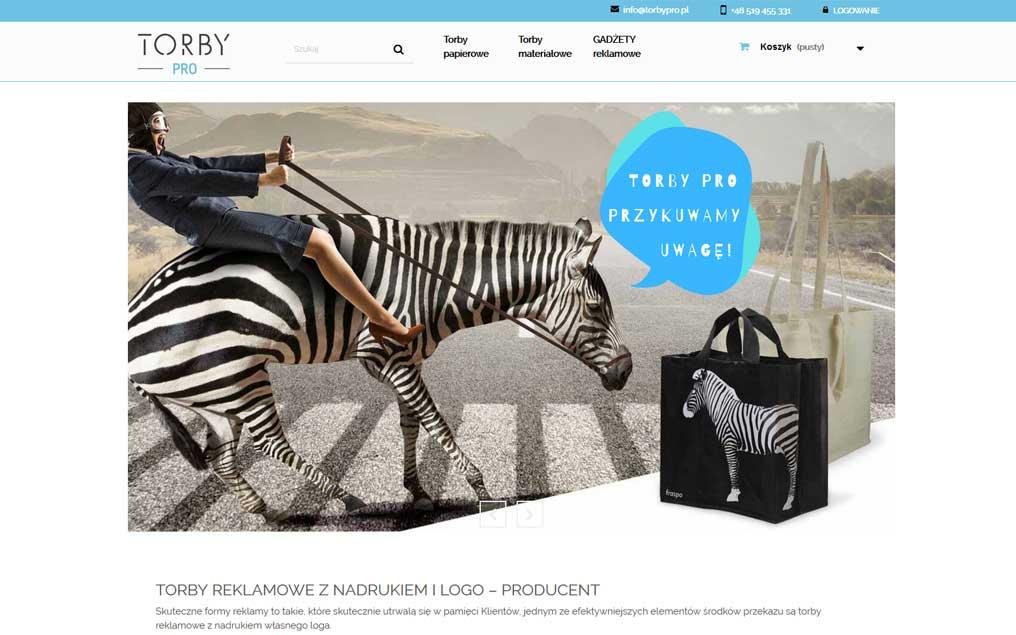 Sklep internetowy dla producenta toreb reklamowych