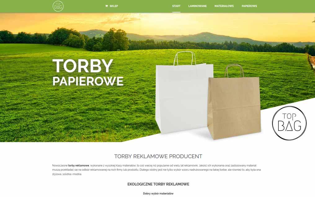 Strona internetowa producent toreb reklamowych