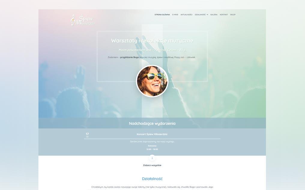 Strona internetowa koncert